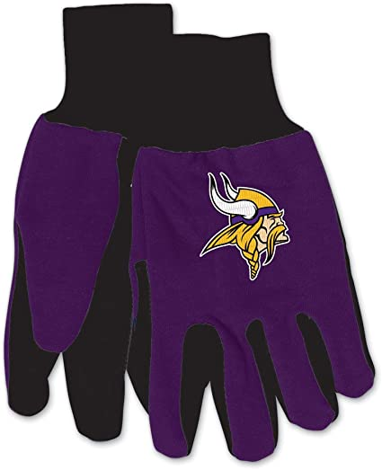 McArthur 9960690665 Indianapolis Colts Two Tone Adult Size Glove
