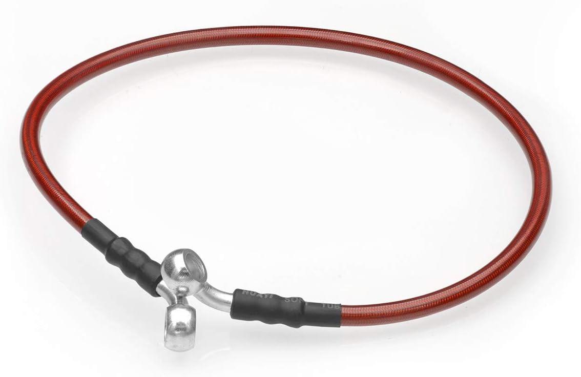 AJP Distributors 24 Inch 60.96CM Motorcycle Motorbike Bike Braided Steel Brake Clutch Oil Hose Line Pipe