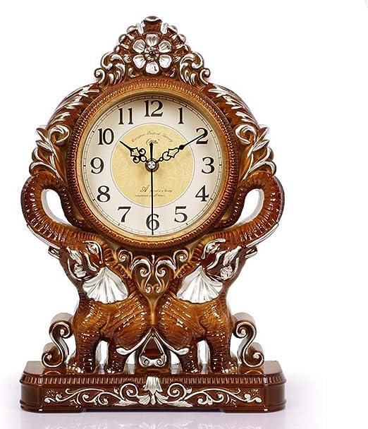 Reloj De Mesa Retro Tabla Manto Reloj Despertador, Mute ...