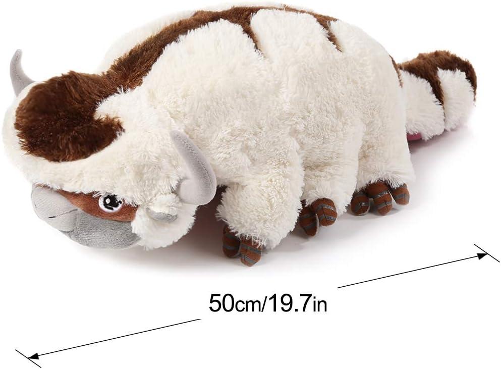 Animales de Peluche Kawaii Almohada Juguete Juguete de Peluche Appa Plush Toy 50 CM Peluches Mu/ñeca de Ganado Juguetes para Ni/ños Regalo de Navidad
