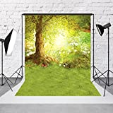5x7ft Fairy Tale Backdrops for Photography Fabric Cloth Dreamlike Forest Photographic Studio Photo Backgrounds Prop