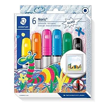 Staedtler Noris Club 2390G1 C6. Ceras con textura gel. Pack de 6 unidades con colores variados.: Amazon.es: Oficina y papelería