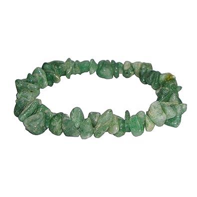 Green Aventurine Gemstone Chip Bracelet 4Xcxgt