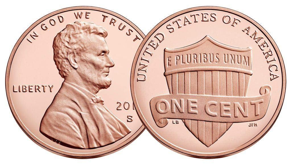 2019 P /& D 2 rolls* Lincoln Penny Union Shield Cent with Bonus /& Free Shipping