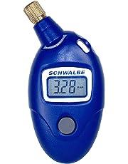 Schwalbe Druckmesser Airmax Pro Luftdruckmesser Fahrradzubehör, blau, 9,5 x 4,5 x 2 cm