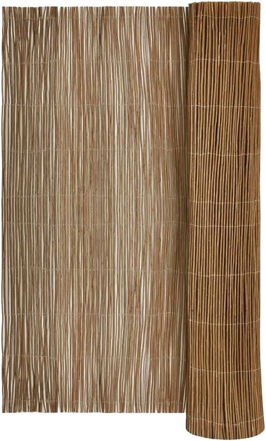 vidaXL Valla de Sauce 100 x 500 cm: Amazon.es: Jardín