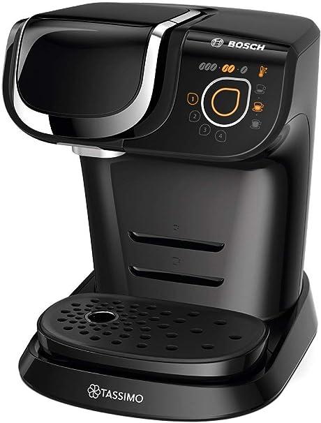 Bosch Cafetera TASSIMO My Way TAS6002 Cafetera de cápsulas, color negro