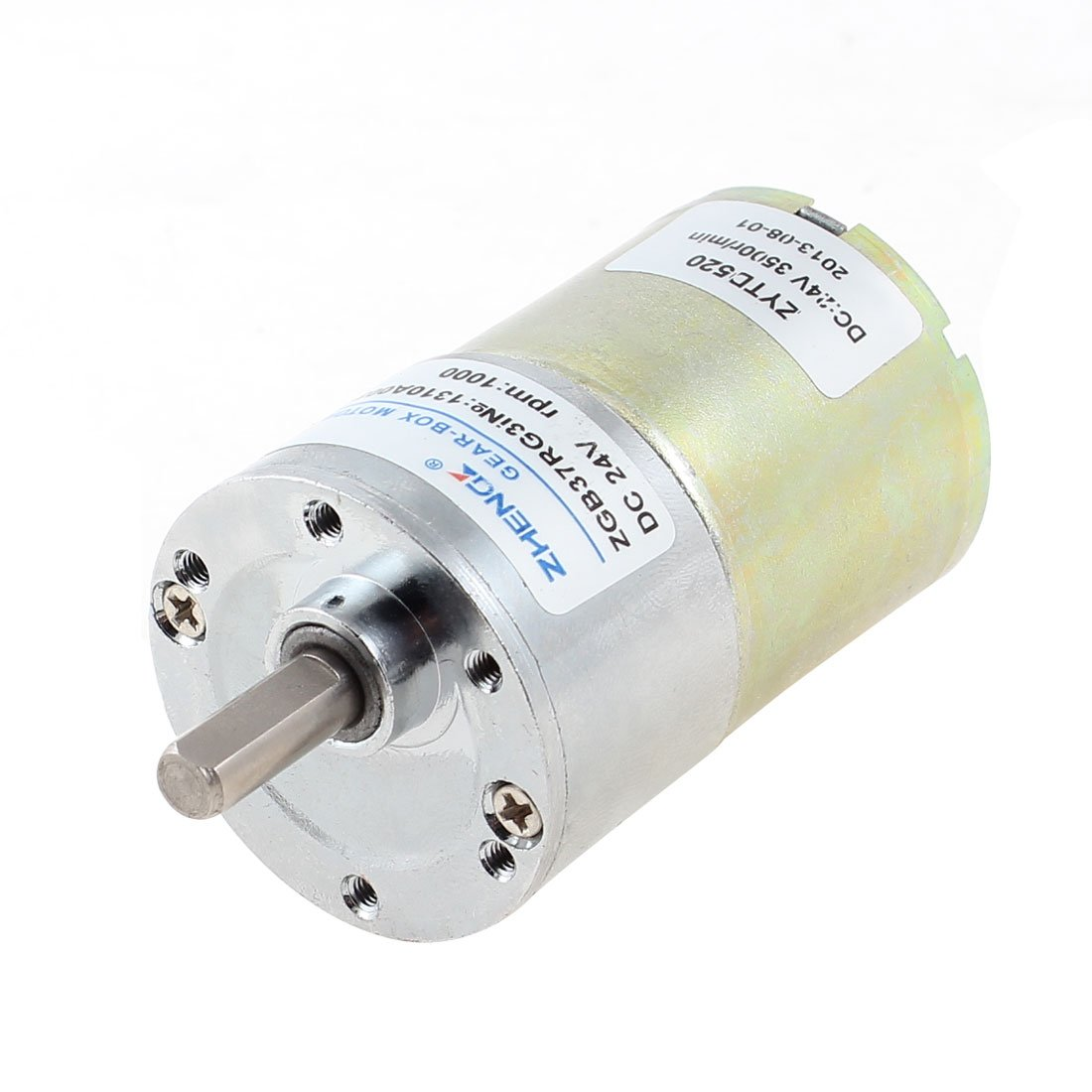 DC 24V 1000 RPM Metal Permanent Speed Reducing Geared Box Motor