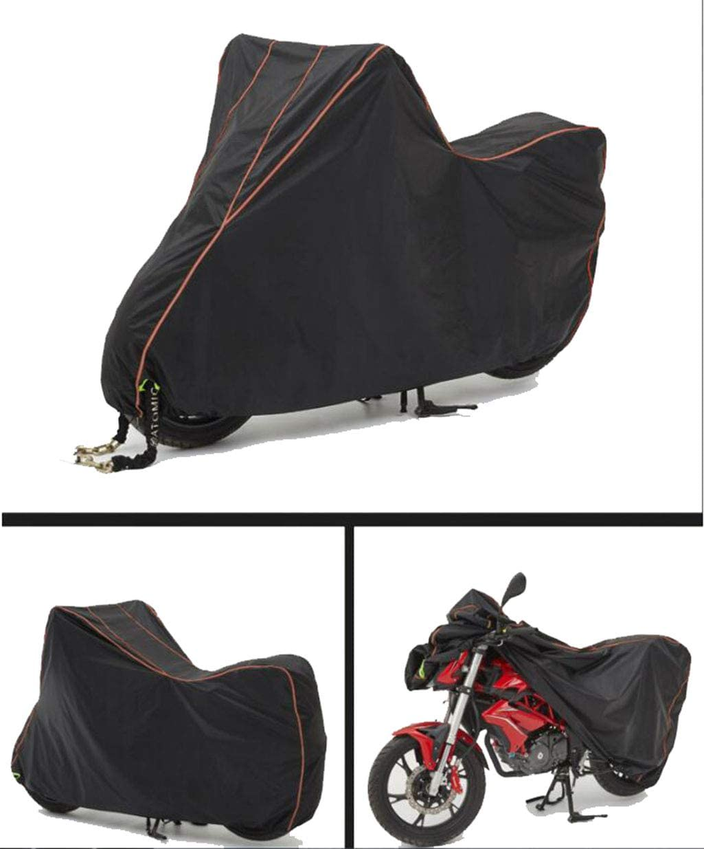 Yamaha MT-09 Tracer Oxford Motorcycle Cover Breathable Water Resistant Black