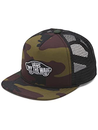 89709370a89 Vans Cap - Classic Patch Trucker Camo green black multicolor size  OSFA  (One size fits any)  Amazon.co.uk  Clothing