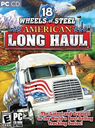 Amazon Com 18 Wheels Of Steel American Long Haul Pc Video Games