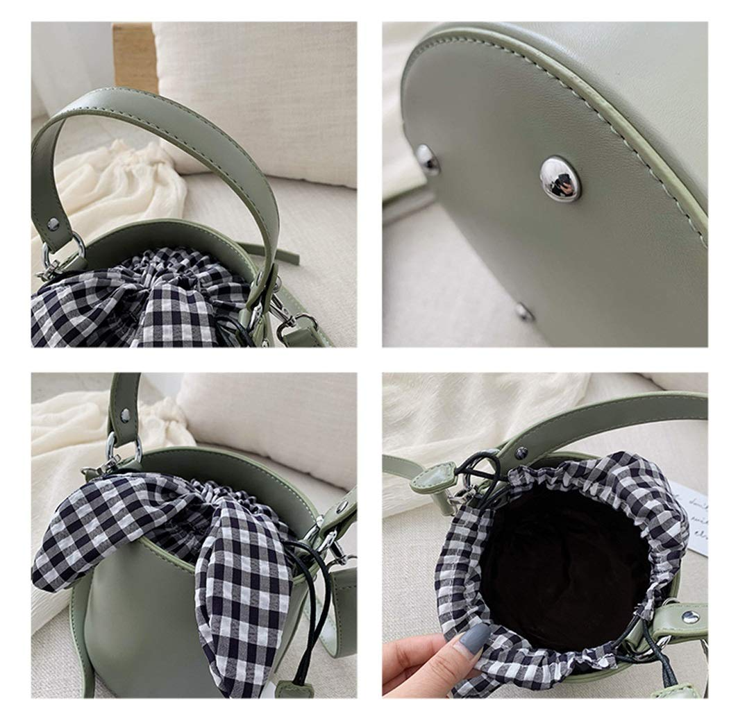 Color : Yellow, Size : 1311.51312cm OUSHINA 2019 New Small Bag Tide Summer Small Fresh Bucket Bag Messenger Bag for Women