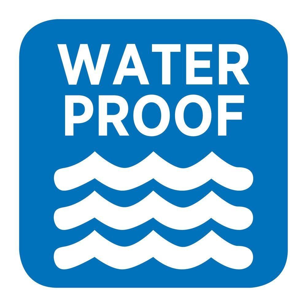 Amazon.com: mDesign Waterproof, Mold/Mildew Resistant, Heavy Duty ...