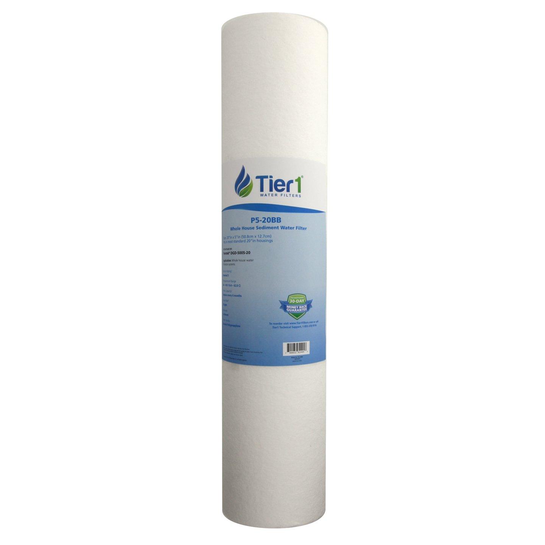 Pentek DGD-5005-20 5 Micron 20 x 4.5 Comparable Whole House Sediment Water Fi.