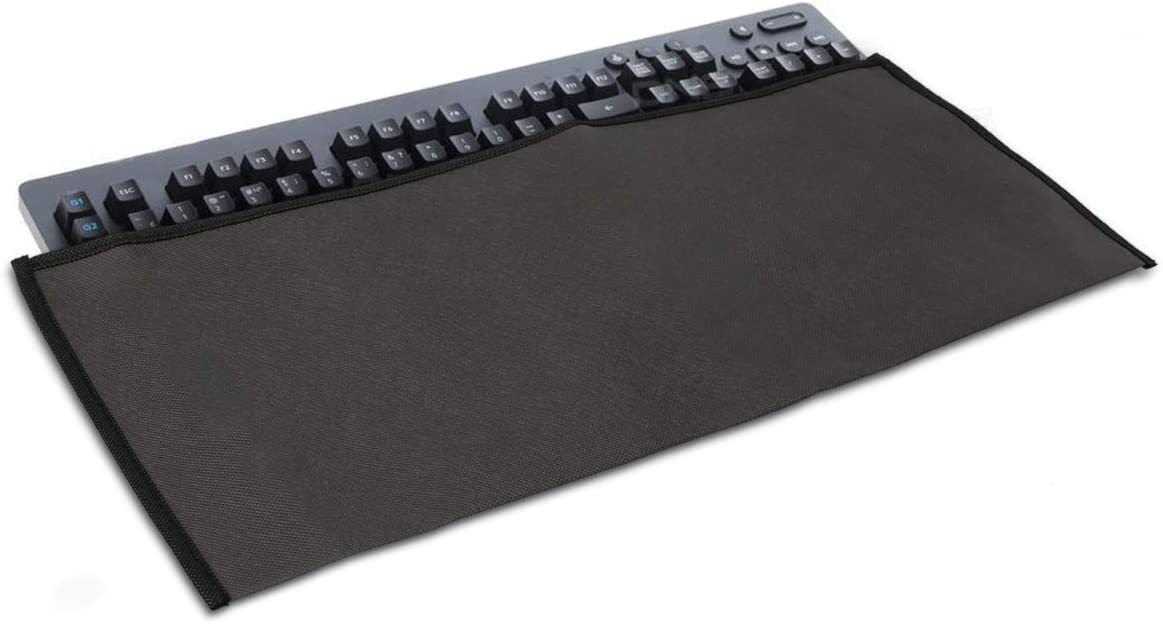 kwmobile Keyboard Cover Compatible with Logitech G613 Wireless Dark Grey Protective Skin Computer Keyboard Dust Cover Case