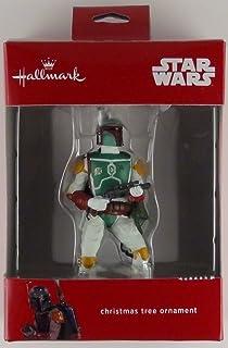 Amazon.com: Hallmark Keepsake Ornament Star Wars (Boba Fett): Home ...