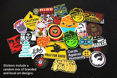 Assorted Sticker Pack of 10 (Various Brands, by CacklePear)