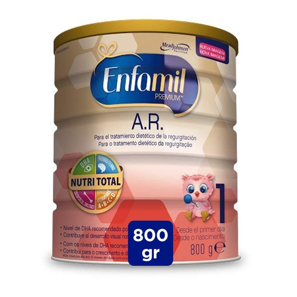 Enfamil Premium A.R.1 - Leche infantil anti regurgitación para bebés lactantes de 0 a 6 meses de edad: Amazon.es: Alimentación y bebidas