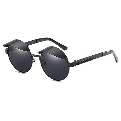 CVOO Gothic Steam Punk Sunglasses Men Women Metal Eyeglasses Round Shades Brand Designer Sun Glasses Mirror High Quality UV400 CwarAEqHRL