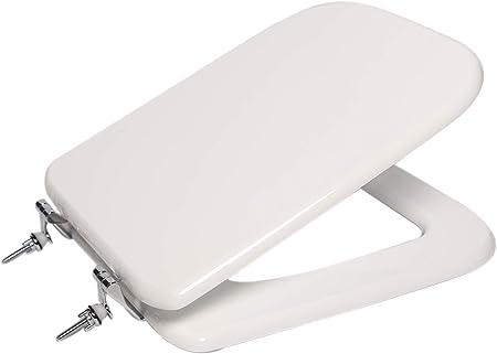 Sedile Water Ideal Standard Modello Conca.Copri Wc Water Sedile Per Modello Conca Ideal Standard In Legno Cerniere Cromate Bianco Amazon It Fai Da Te