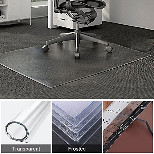 Home Cal Chair or Table Mats for Hardwood Floor Protection, Rectangular and Grinding,Multi-sizes (35''x39'') 1/16''thickness by  Home Cal