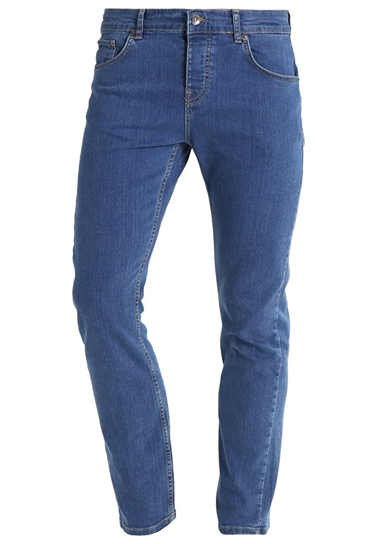 YOURTURN Pantalones Vaqueros de Hombre Regular Fit en Azul ...