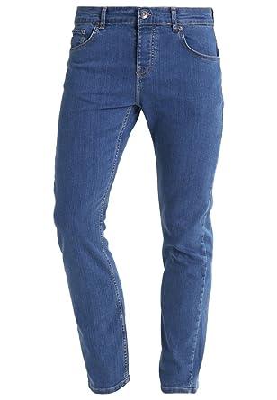 YOURTURN Jean pour Homme Taille régulière en Bleu Clair, Bleu foncé ... e3128dd4bef8