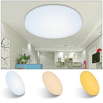 VINGO® 16W LED Deckenbeleuchtung Deckenleuchte rund Deckenlampe ...