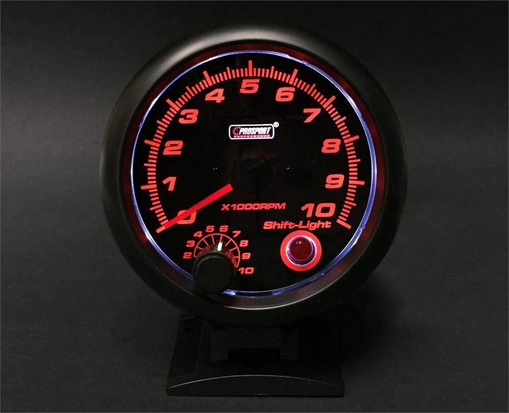 Prosport Universal Performance 3-3/4' Tachometer 0-10, 000 RPM Prosport Performance