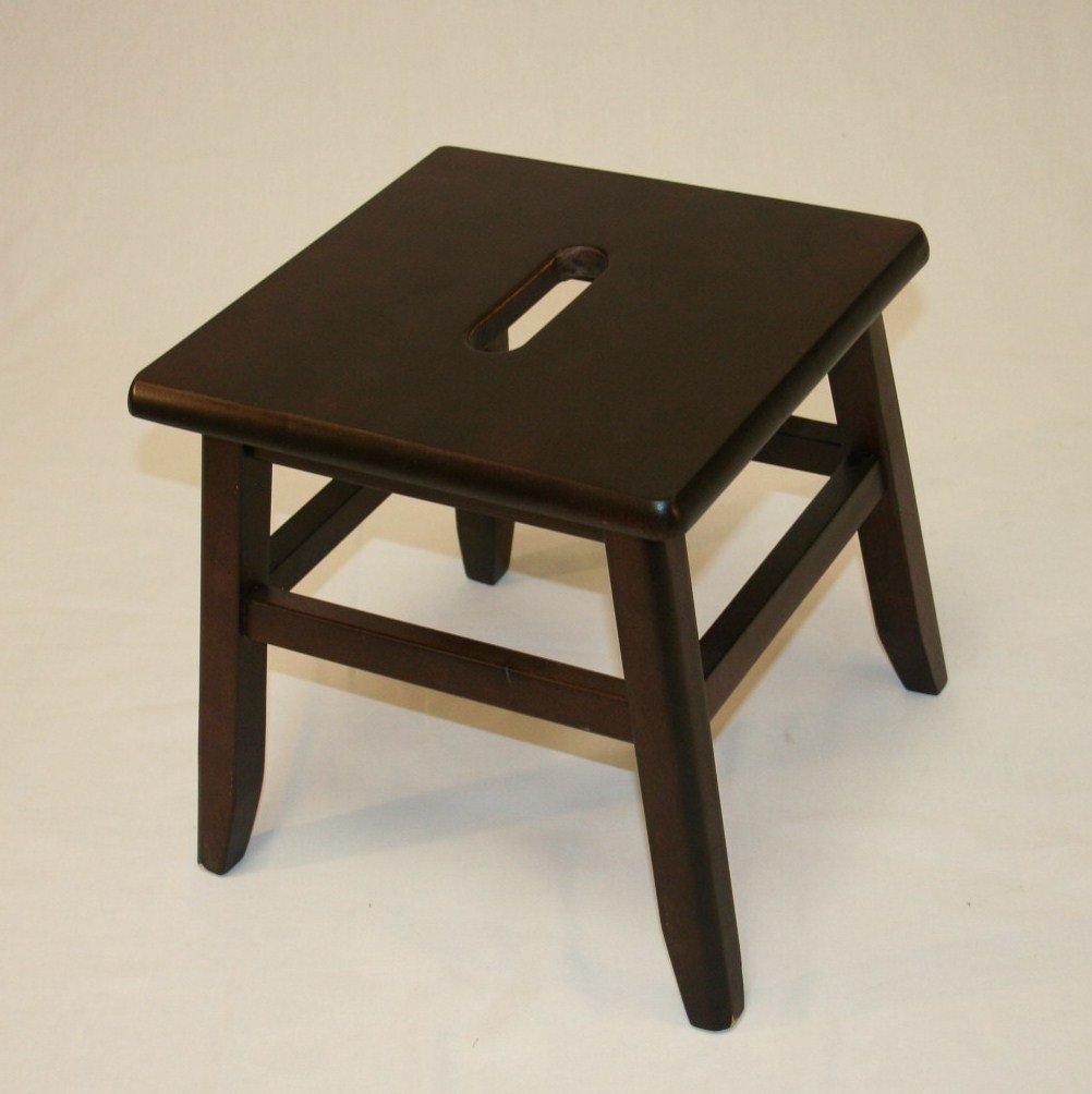 Amazon.com eHemco Hardwood Footstool in Espresso Finish-12  Kitchen u0026 Dining & Amazon.com: eHemco Hardwood Footstool in Espresso Finish-12 ... islam-shia.org