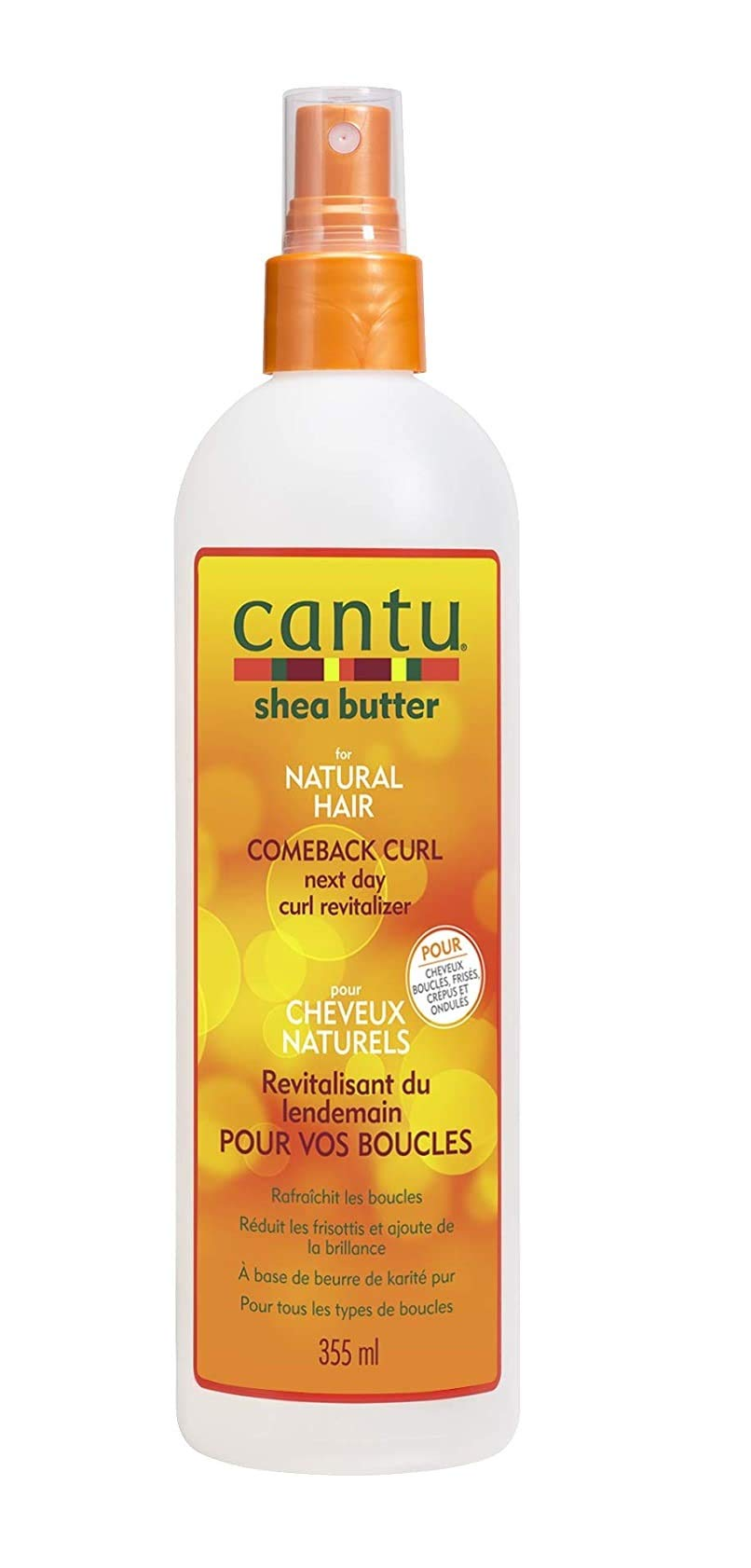 Cantu Comeback Next Day Curl Revitalizer, 12 Fluid Ounce
