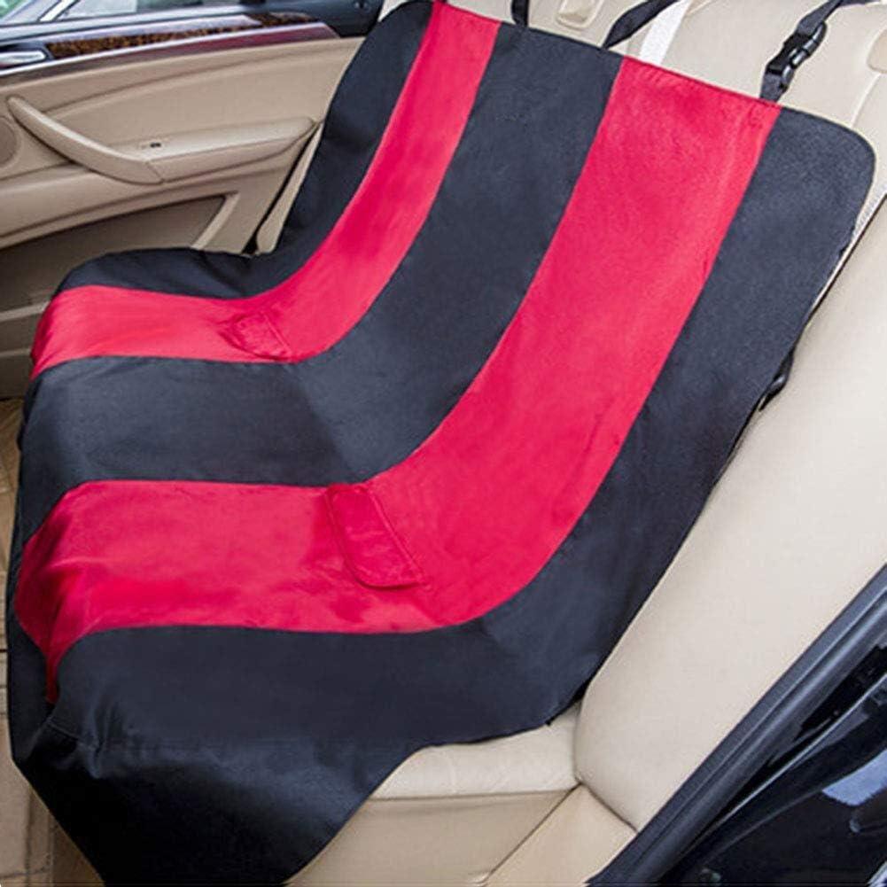 エイシア-ペットマスター ドッグシートカバー600Dオックスフォード布リアシートクッション防水アンチスリップ防止滑り止めスクラッチプルーフ機ウォッシュペット車旅行コンベアカーペットバリア車両犬フェンスケージゲート安全