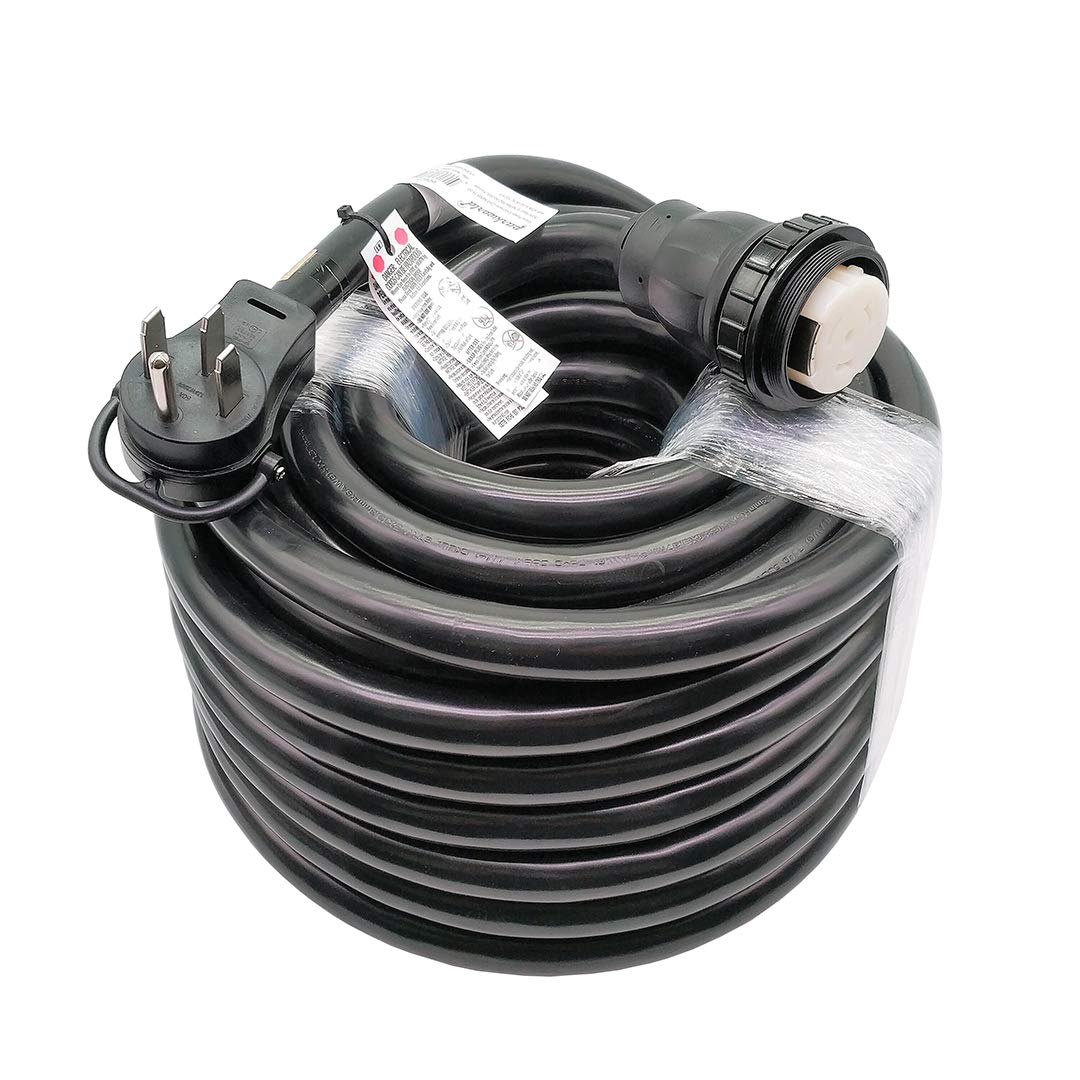 Parkworld 60622 RV Shore Power 50A Extension Cord Adapter 14-50P to SS2-50R 100 Feet by Parkworld