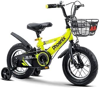 Ppy778 Bicicletas para niños Chicos y niños Bicicletas de Pedales ...
