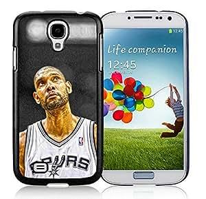 New Custom Design Cover Case For Samsung Galaxy S4 I9500 i337 M919 i545 r970 l720 San Antonio Tim Duncan 4 Black Phone Case