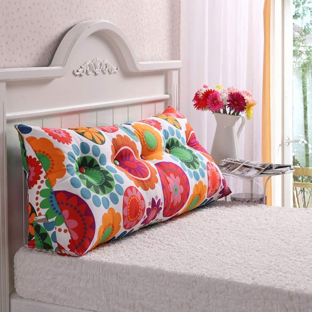 Reading Pillow Back Support Pillow Bedside Back Cushion Double Sofa Bedrest Backrest Large Cushion backrest Sofa Long Pillow Bed Pillow Bed Cushion Removable Washable Bolster Cushion