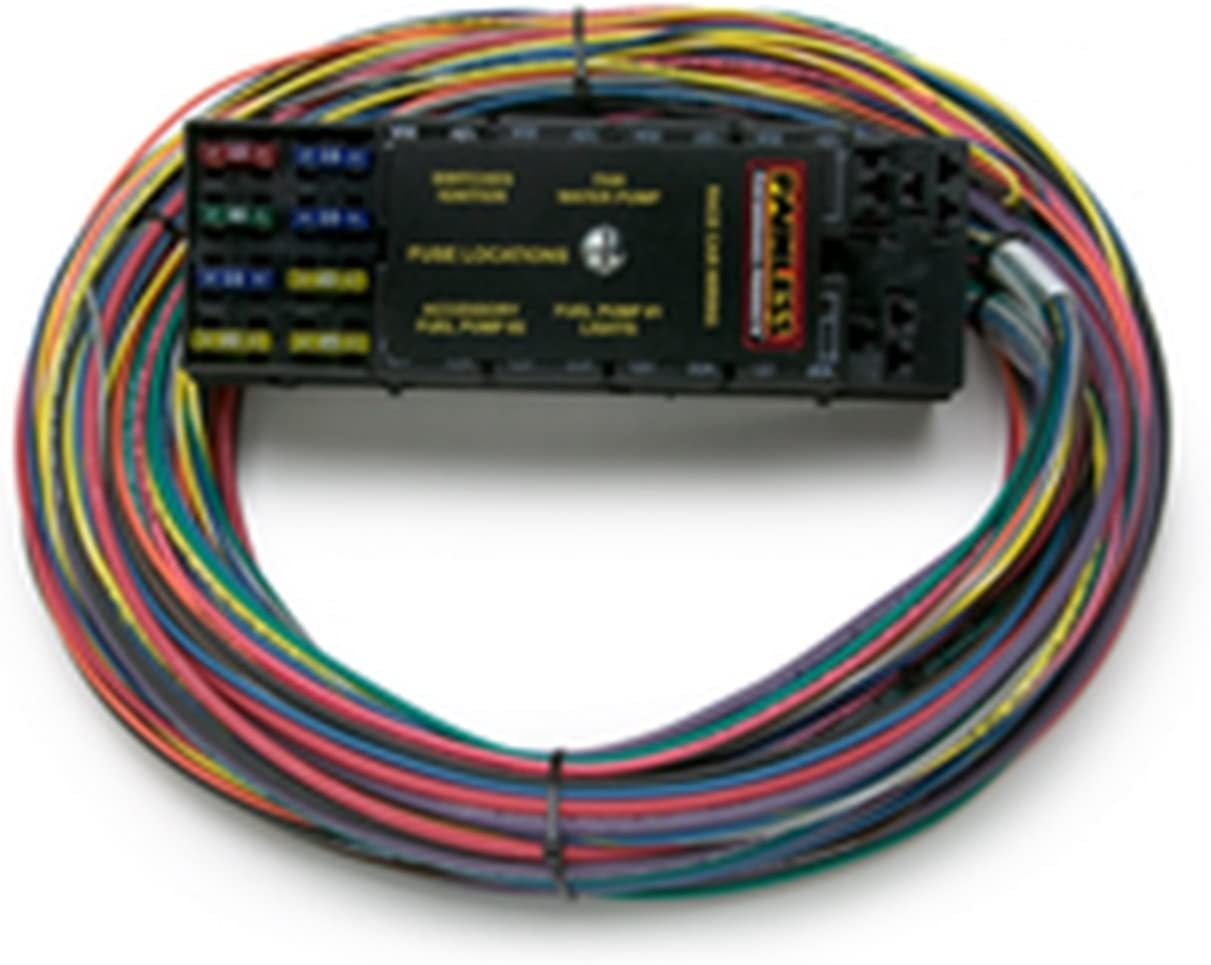 i just installed a painless wiring harness along with amazon com painless 50001 race only chassis harness  10 circuit  50001 race only chassis harness