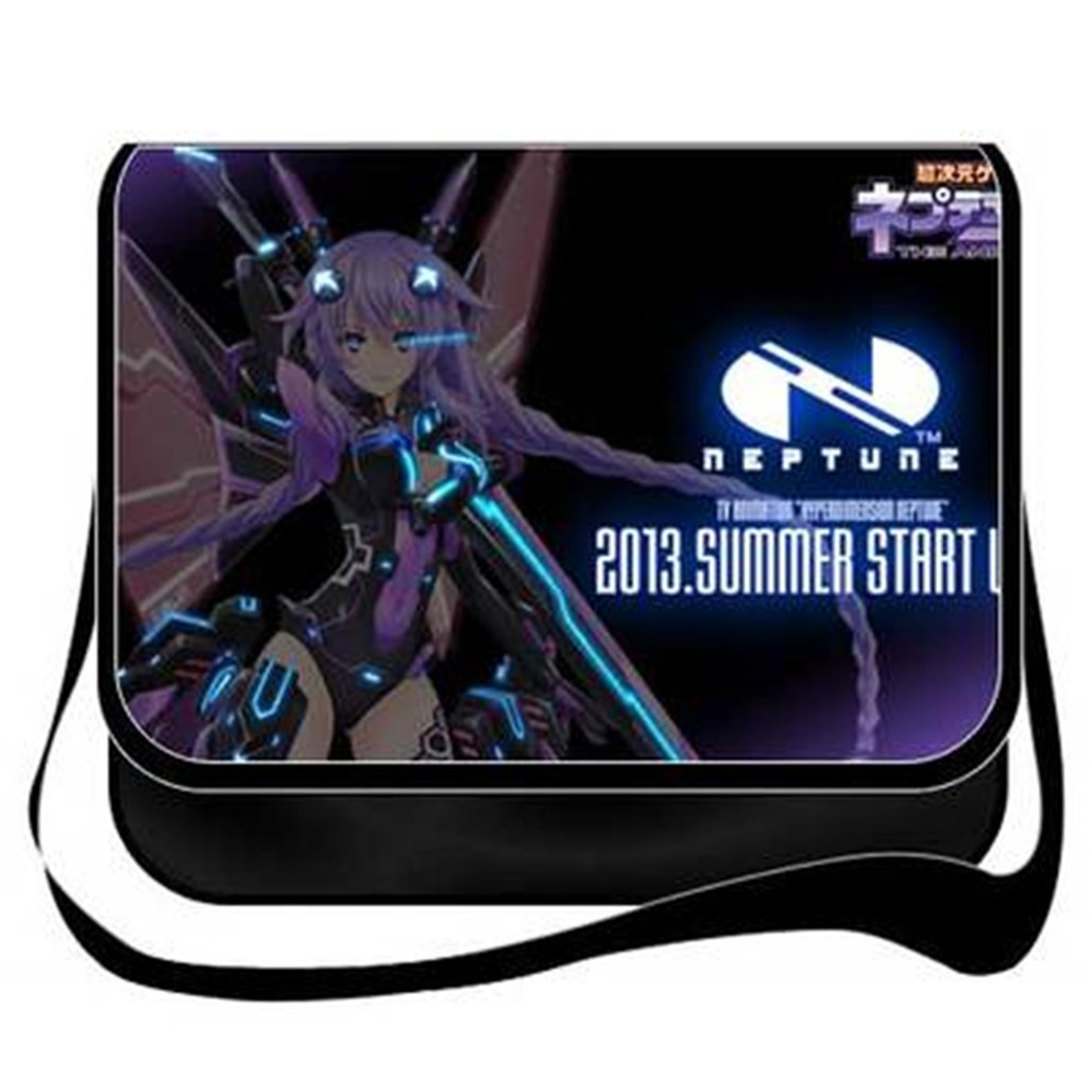 Gumstyle Hyperdimension Neptunia Anime Cosplay Handbag Messenger Bag Shoulder School Bags