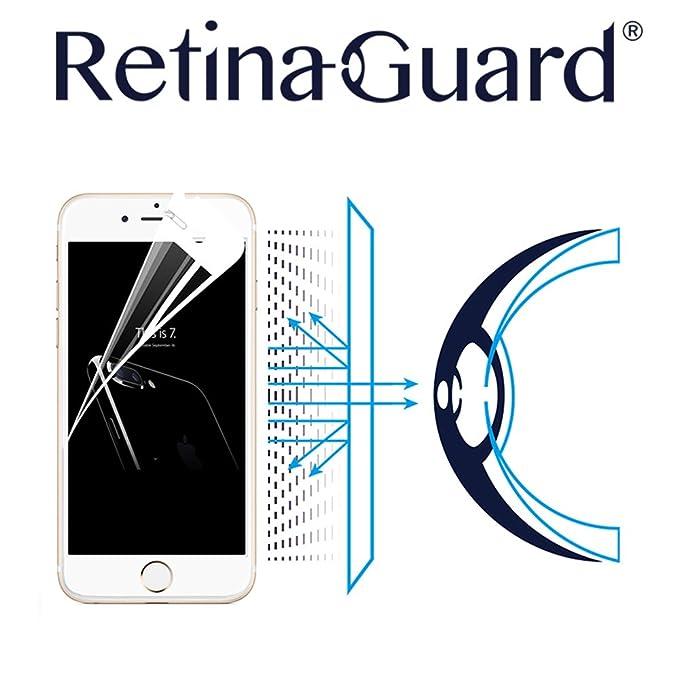 retinaguard Anti luz Protector de Pantalla para iphone7/7Plus – SGS & Intertek Certificado –