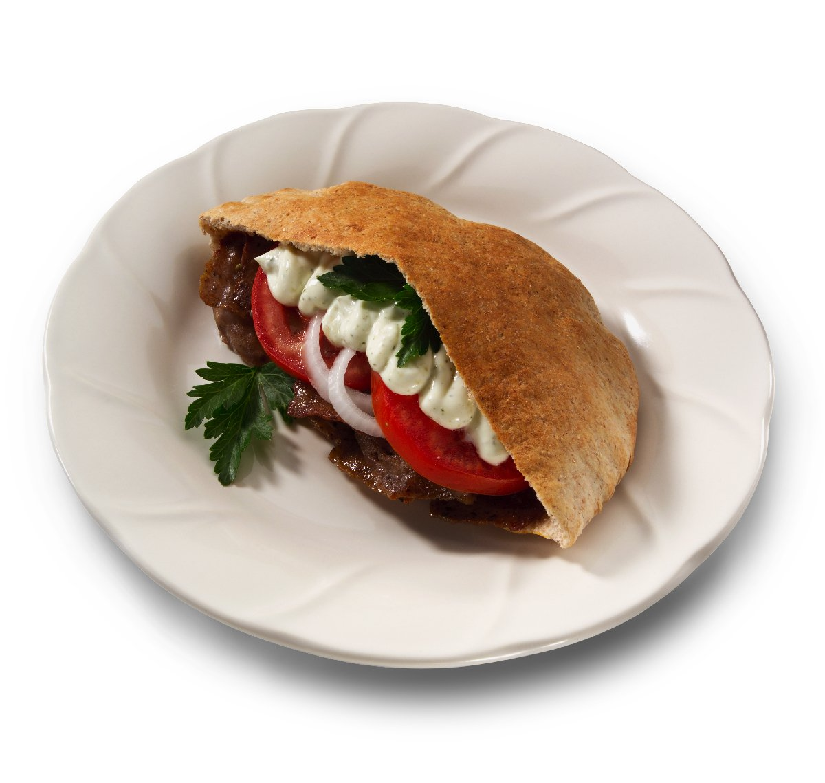 Halal Beef and Lamb Gyro by Midamar - Fully Cooked, seasoned and sliced - 10,16 oz packs by Midamar (Image #2)