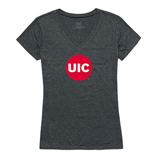0ec0e8428 UIC University of Illinois at Chicago NCAA Women s Cinder Tee V Neck Tee t  Shirt