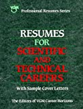 Resumes for Scientific and Technical Careers, VGM Career Books Staff, 0844241571