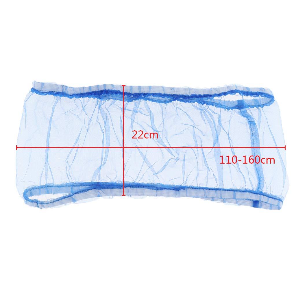 S Azul FLAMEER Cubierta de Malla para P/ájaros Jaula Cubierta Trampa de Gasa Semillas El/ásticas