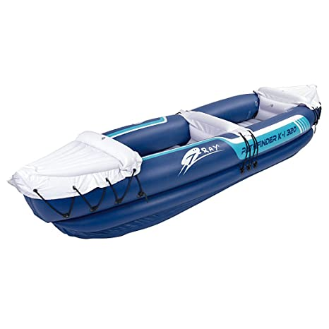 JILONG Kajak K-I Pathfinder - Kayak Hinchable, Talla única: Amazon ...