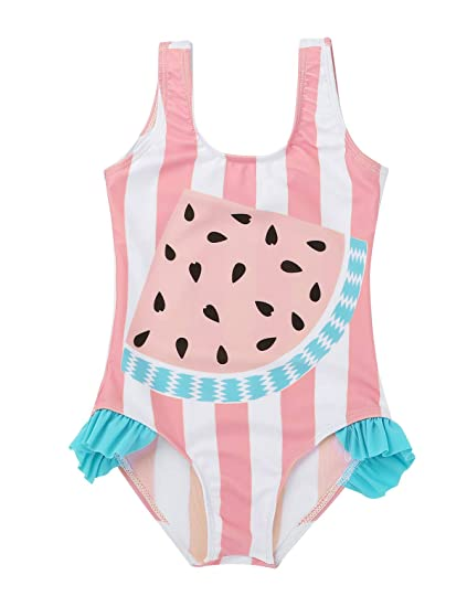 YiZYiF Bikinis Bañador Traje de Baño para Bebé Niñas Patrón ...