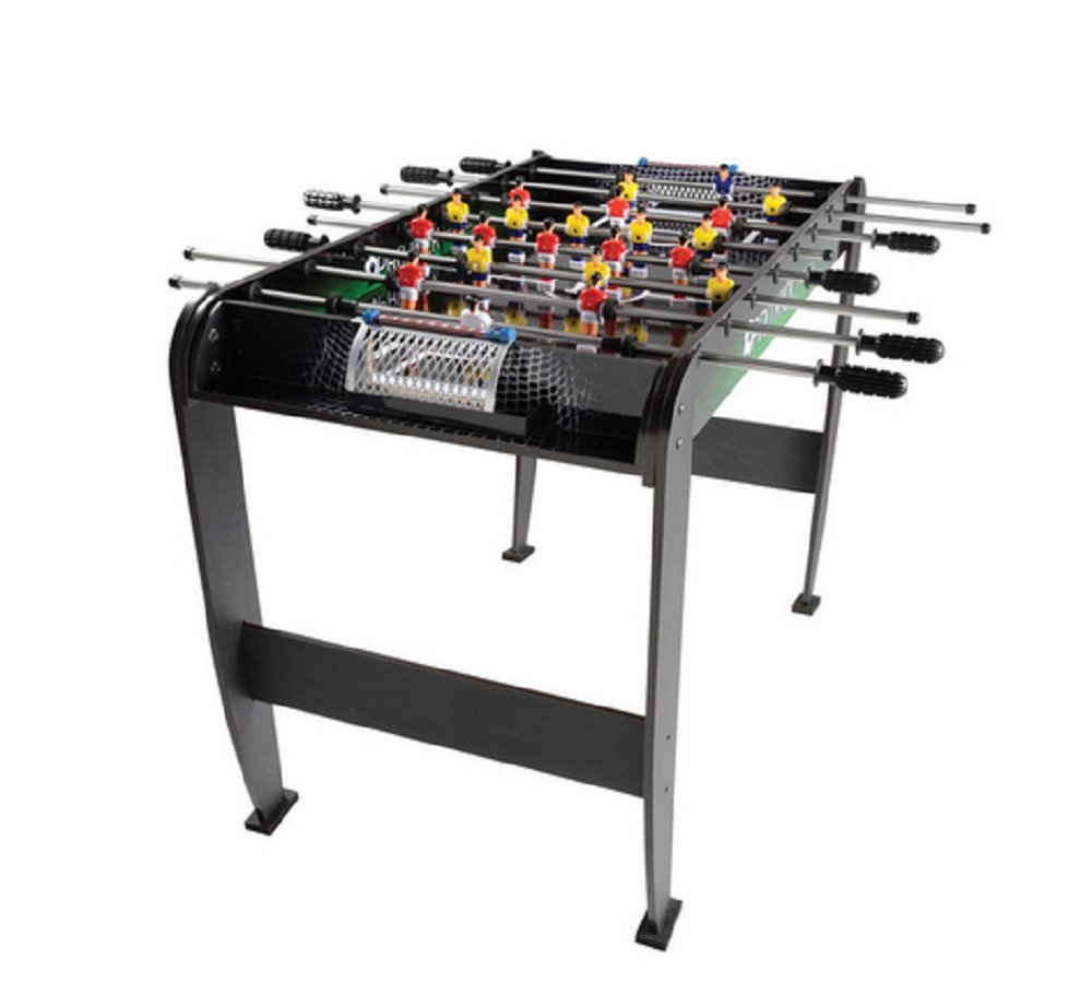 Foosball Table, 48-inch Foosball Game Table. Enjoy Endless Fun Filled Evenings with Family and Friends. This Will Make for a Great Christmas Holiday Gift for the Sports Enthusiast in Your Family.