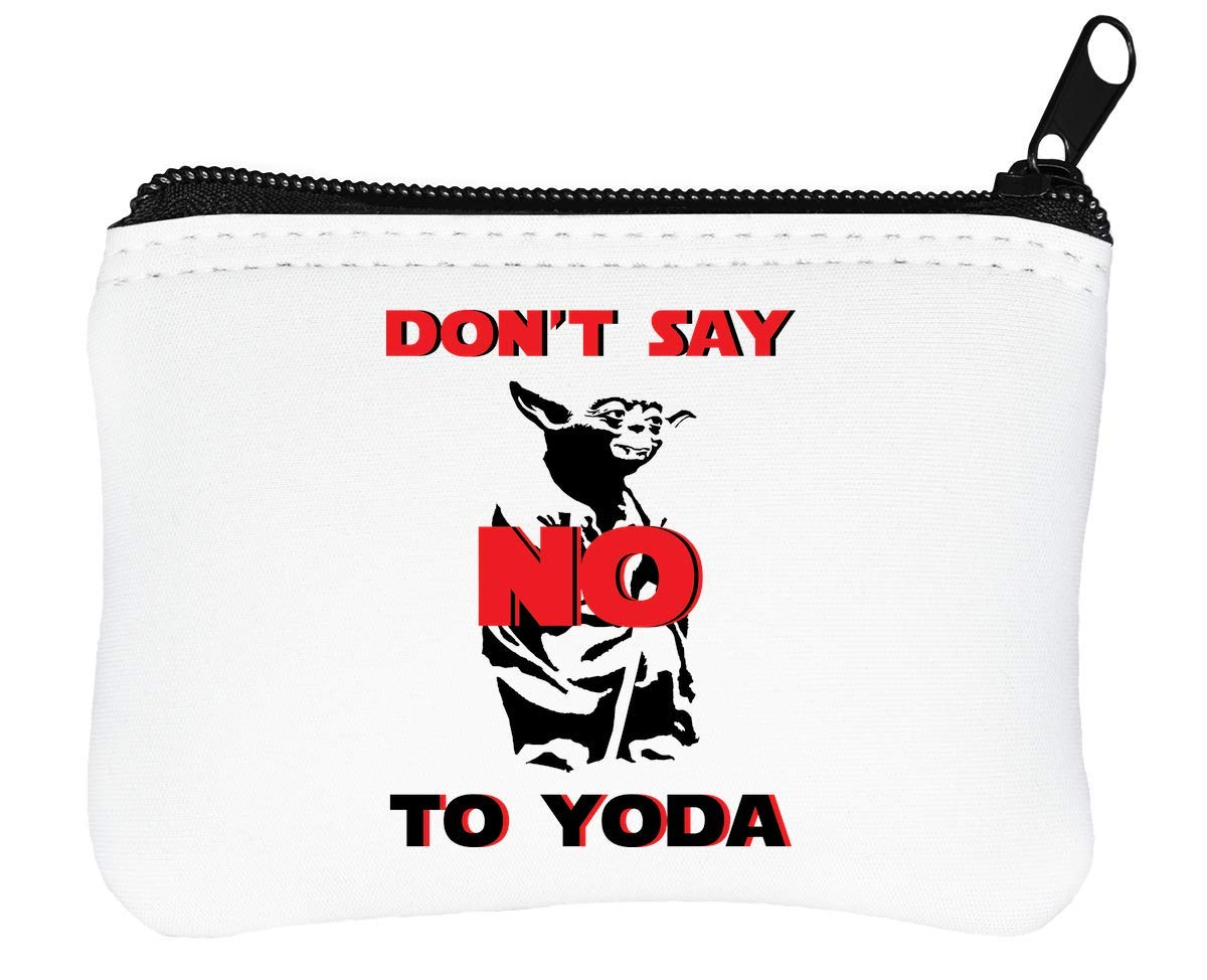Star Wars Dont Say No To Yoda Billetera con Cremallera ...