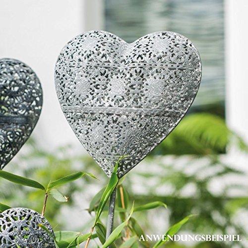 Videx Gartenstecker Herz Hanna B: 13 cm L: 3 cm H: 80 cm