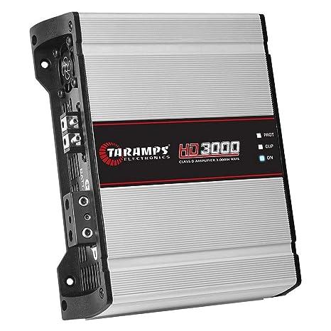 Taramps HD 3000 4 Ohms Amplificador HD3000 3Kw rms 4 Ohm Taramps ...