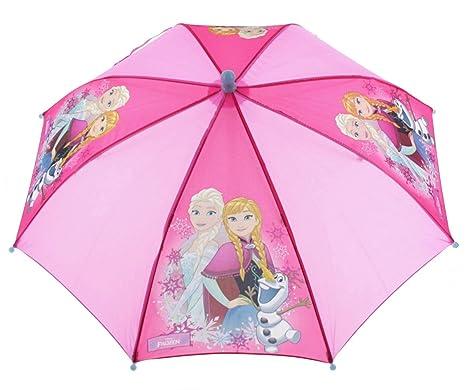 Vadobag Niños paraguas Frozen Ice Glow rosa